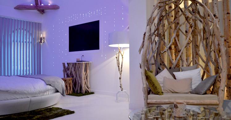 Deco chambre theme nature for Decoration chambre nature