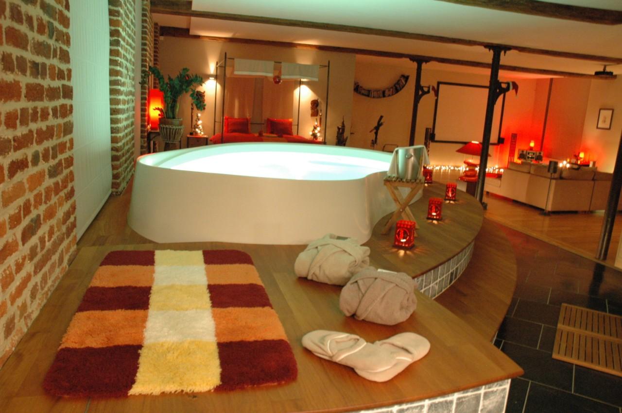 Chambre luxe avec jacuzzi - Chambre de charme avec jacuzzi belgique ...